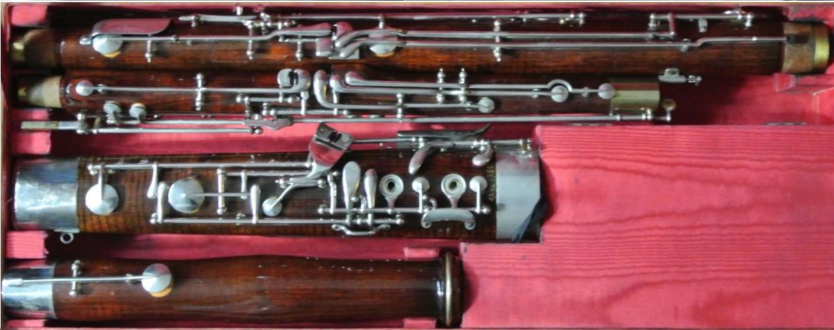 Heckel Bassoon 10394