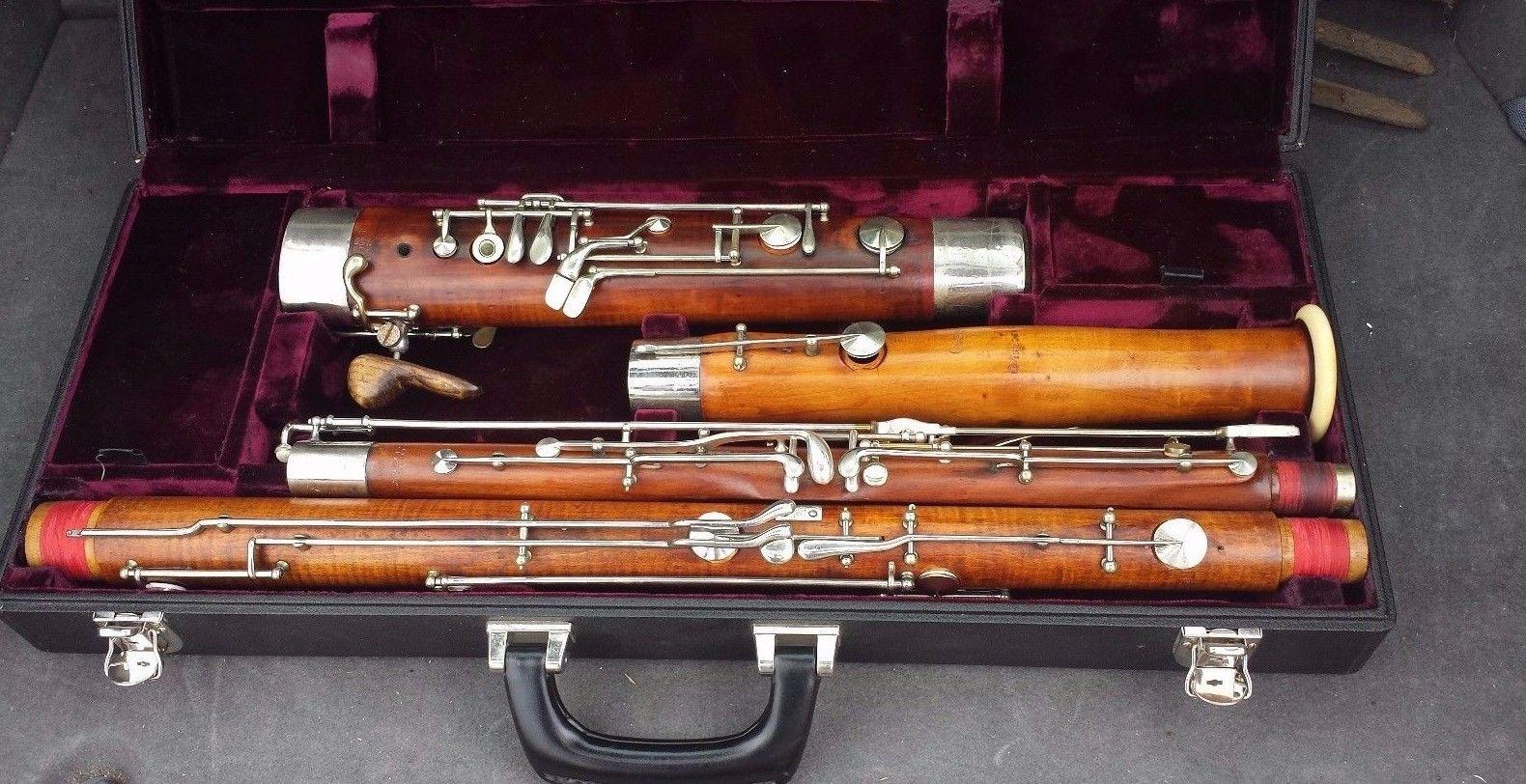 Heckel Bassoon 4456