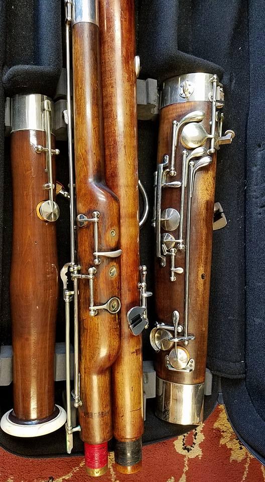 Heckel Bassoon 6393/6